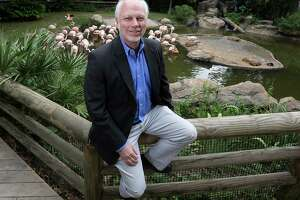 Houston Zoo's new CEO, Lee Ehmke, is already making plans for the zoo's 100th anniversary in 2022.   (Elizabeth Conley / Houston Chronicle )