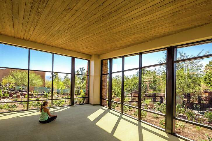 The Canyon Ranch Wellness Center is a peaceful place to meditate.