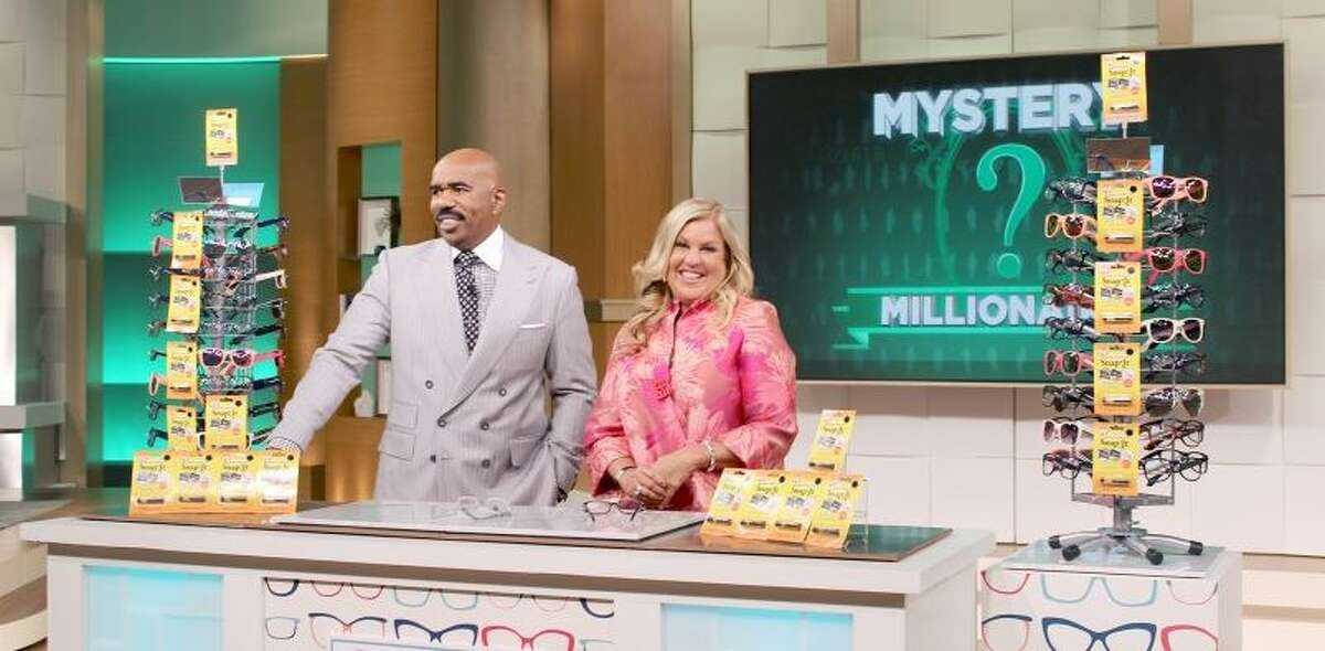 Nancy Tedeschi appeared on the Steve Harvey Show back in April to show off her SnapIt Screw eyeglass repair kit