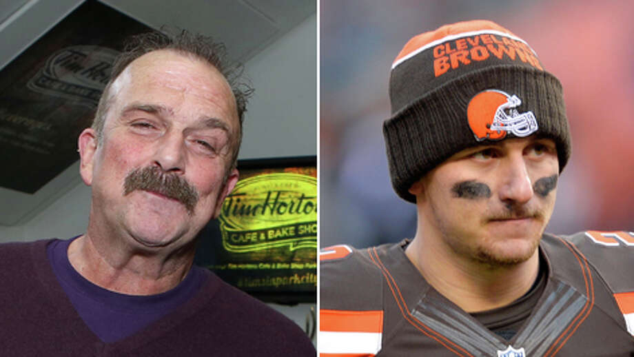 """Wrestling legend and recovering addict Jake """"The Snake"""" Roberts (left) says he wants to help troubled Cleveland Browns quarterback Johnny Manziel.Click through the gallery to relive Manziel's highs and lows in football."""