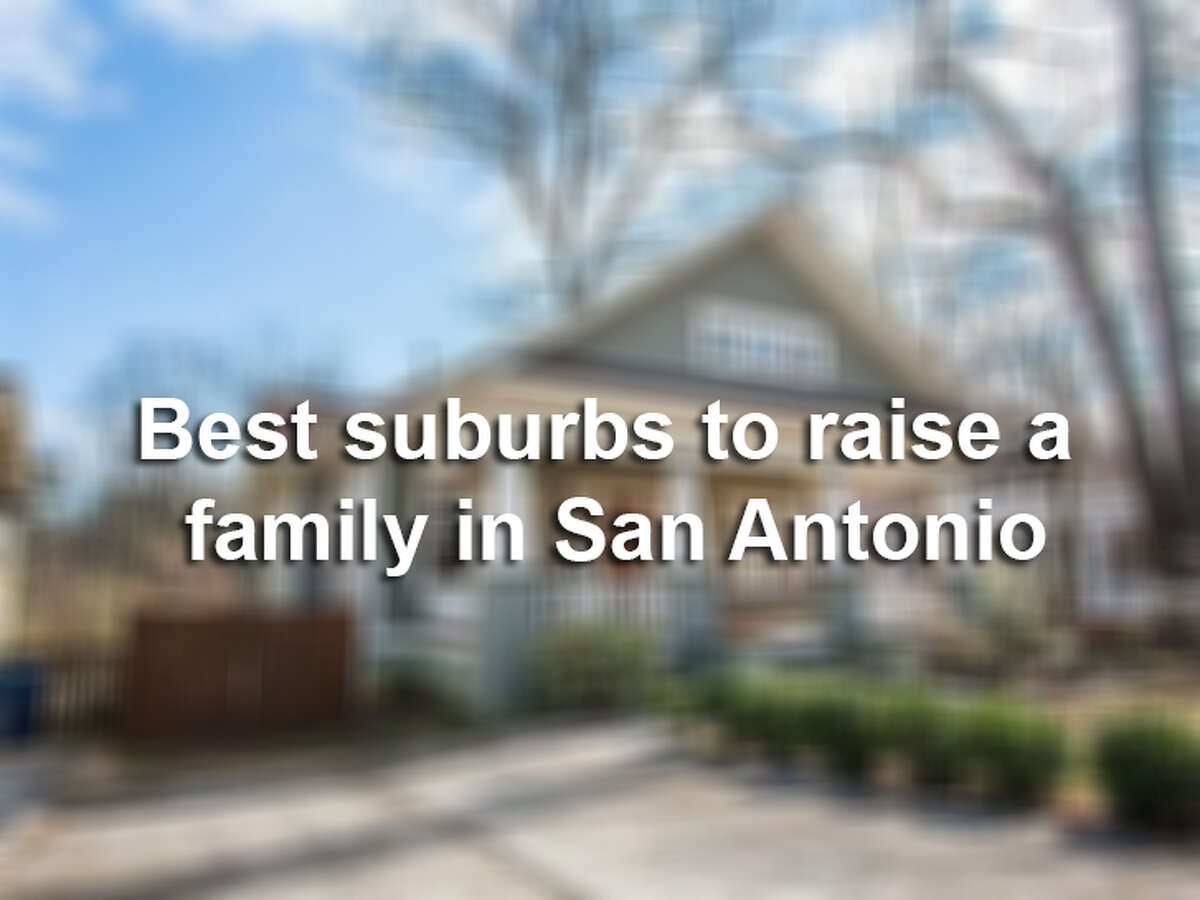 Here are the 30 best suburbs to raise a family in the San Antonio area.