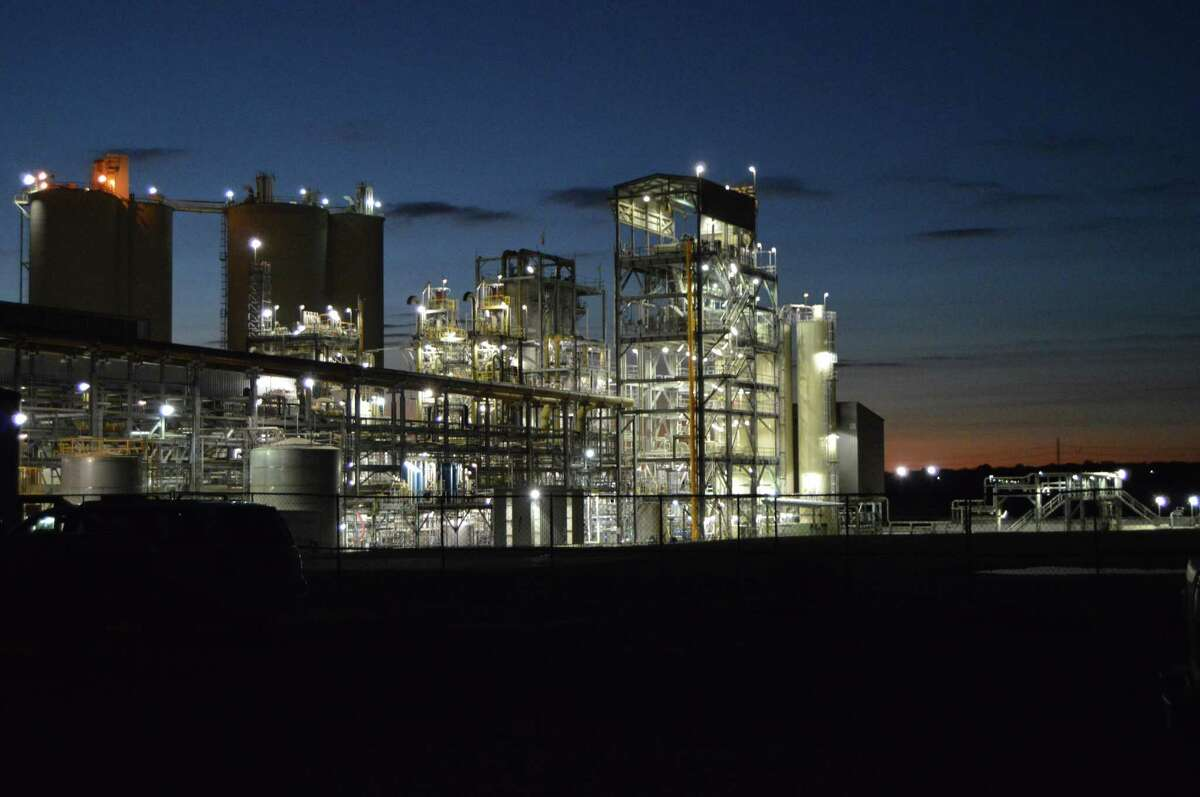 The Capitol SkyMine carbon-capture plant in San Antonio began operations in September.