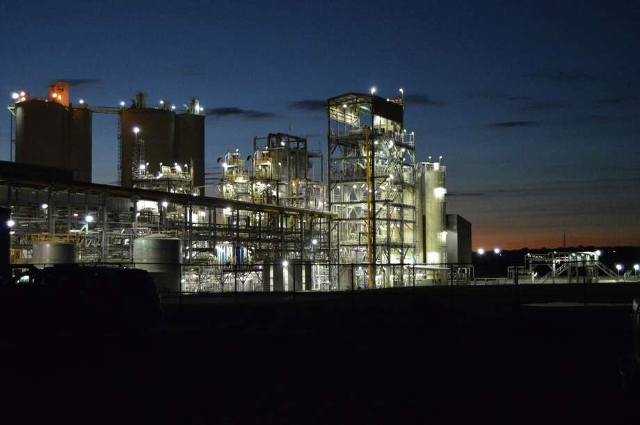 The Capitol SkyMine carbon-capture plant in San Antonio began operations in September. Photo: Courtesy Photo
