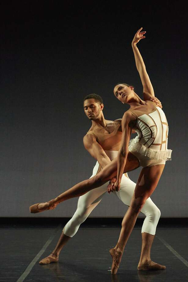 "Sarah Griffin and James Gilmer in Amy Seiwert's ""Traveling Alone."" Photo: David DeSilva"