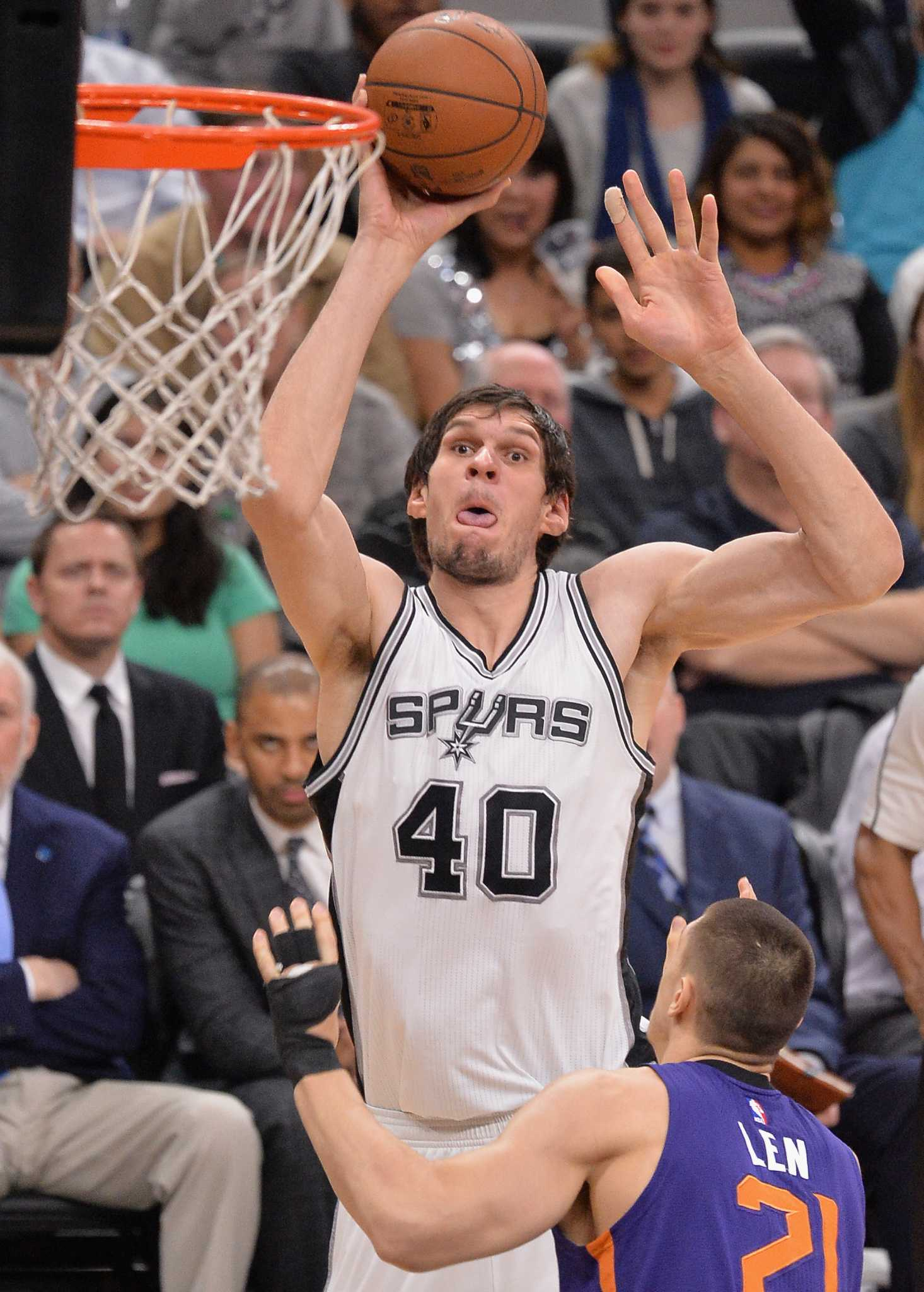 Spurs Boban Marjanovic Says Support Of San Antonio Fans Gives Him