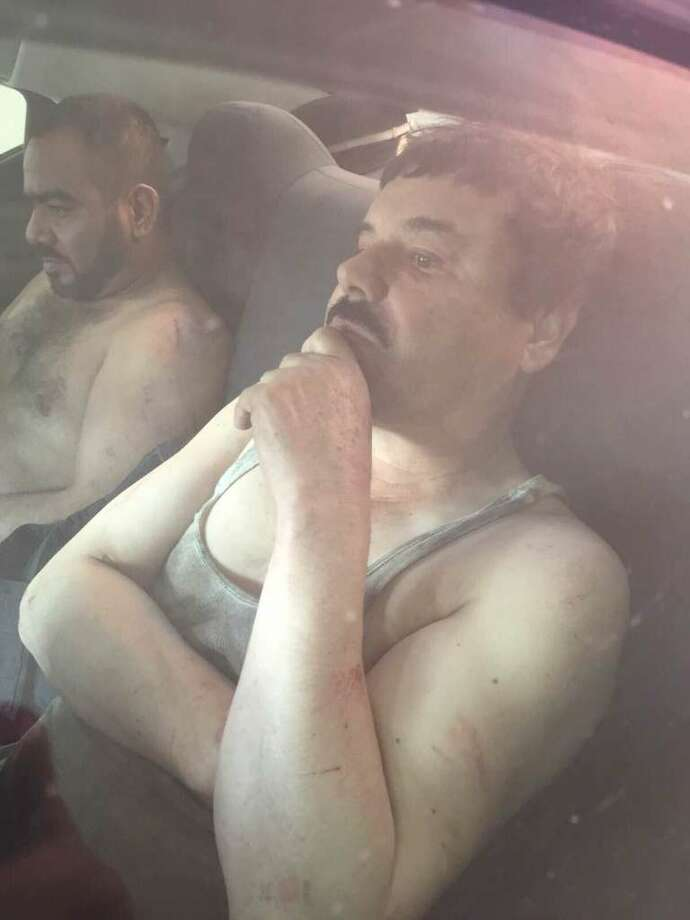 "Joaquín ""El Chapo"" Guzmán Loera was re-captured for the third time by Mexican Marines on Friday. Photo: ElBlogDelNarco.com"