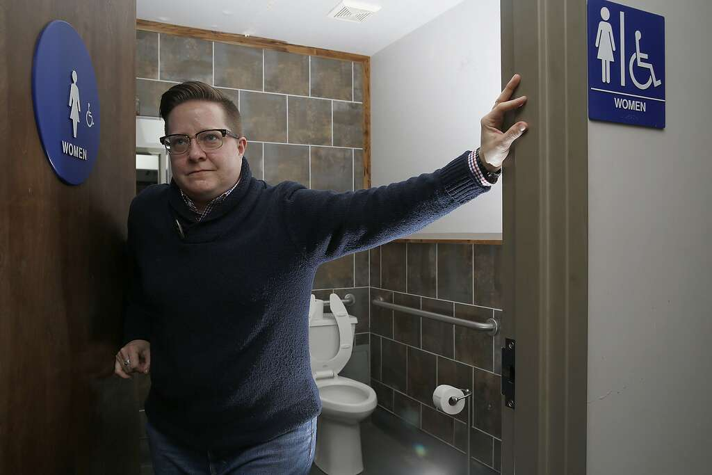 Unisex Bathroom Stall gotta go? single-stall unisex restrooms may become law in s.f.
