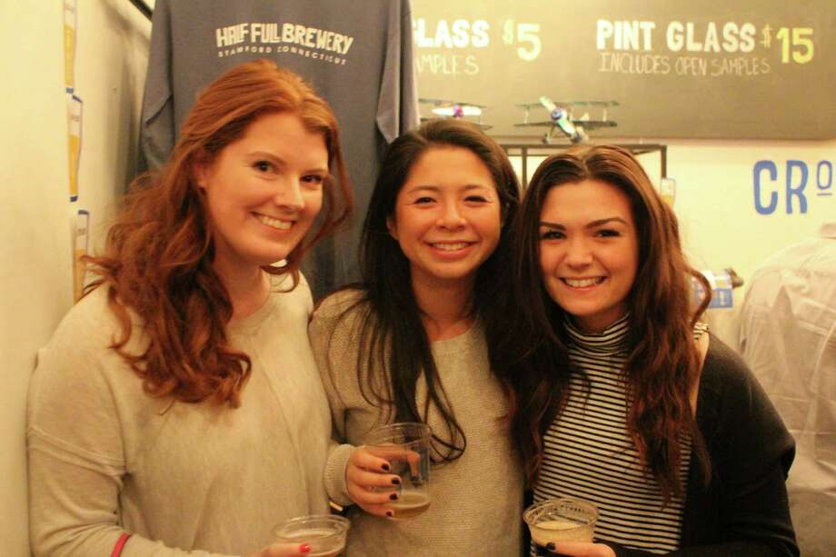 Were you SEEN at Half Full Brewery's open house night in Stamford on January 8, 2016? Photo: Mark Saunders/Hearst Connecticut Media
