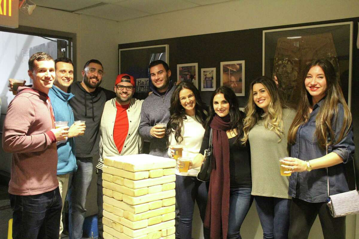 Were you SEEN at Half Full Brewery's open house night in Stamford on January 8, 2016? View more photos here.