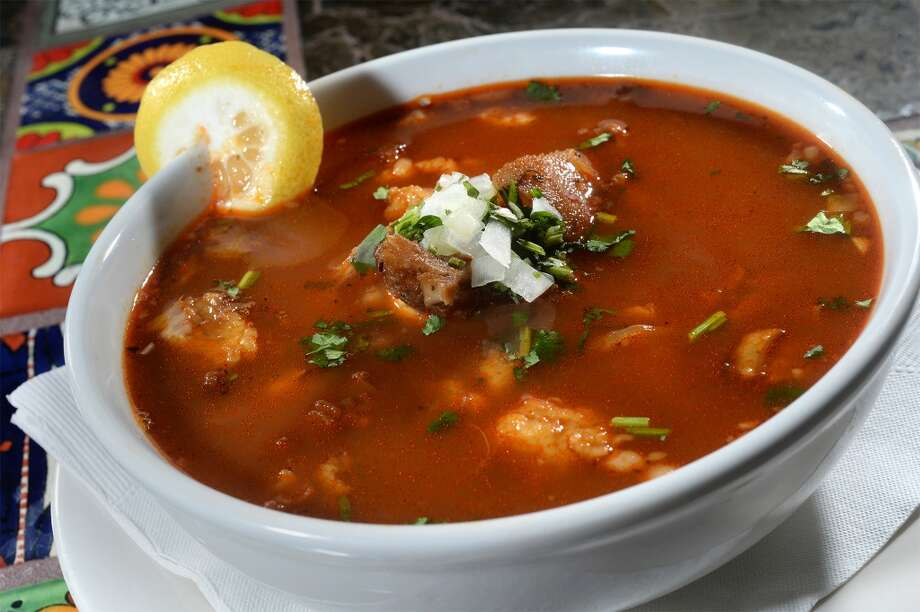 Menudo soup at Habanero's in Beaumont. Photo taken Tuesday, December 29, 2015 Guiseppe Barranco/The Enterprise Photo: Guiseppe Barranco/The Enterprise
