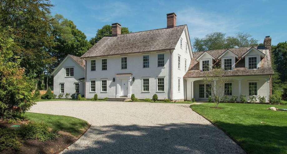 The house at 268 Wilton Road seamlessly blends a structure built in 1700 with new construction. The property is on the market for $3,999,999. Photo: Contributed Photos / Westport News