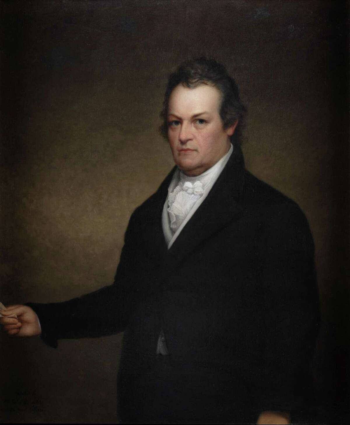 DeWitt Clinton, 6th Governor of New York, and the Federalist nominee for the 1812 U.S. presidential election. (State Archive) ORG XMIT: MER2014121612325187