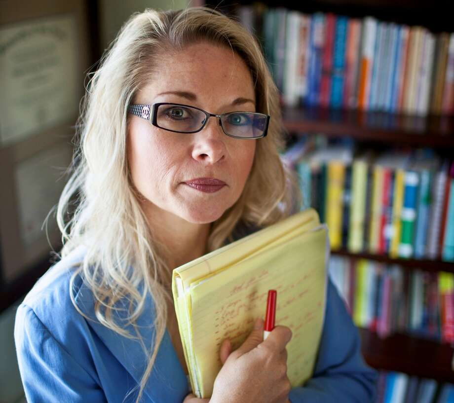 """Rebecca Friedrichs, an elementary schoolteacher in Orange County who has taught for 28 years, said: """"I just want the right for me and all teachers to decide whether to support the unions' financial agenda."""" Photo: Greg Schneider, Associated Press"""