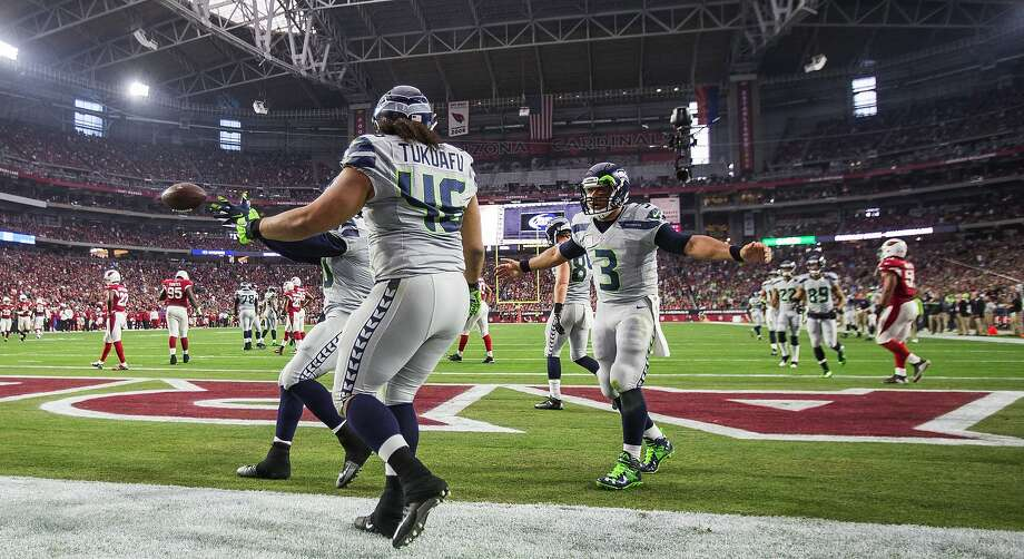 Seattle Seahawks quarterback Russell Wilson (3) has been on a tear, finishing the regular season with 24 touchdown passes and only one interception over the final seven games. Photo: Dean Rutz, McClatchy-Tribune News Service