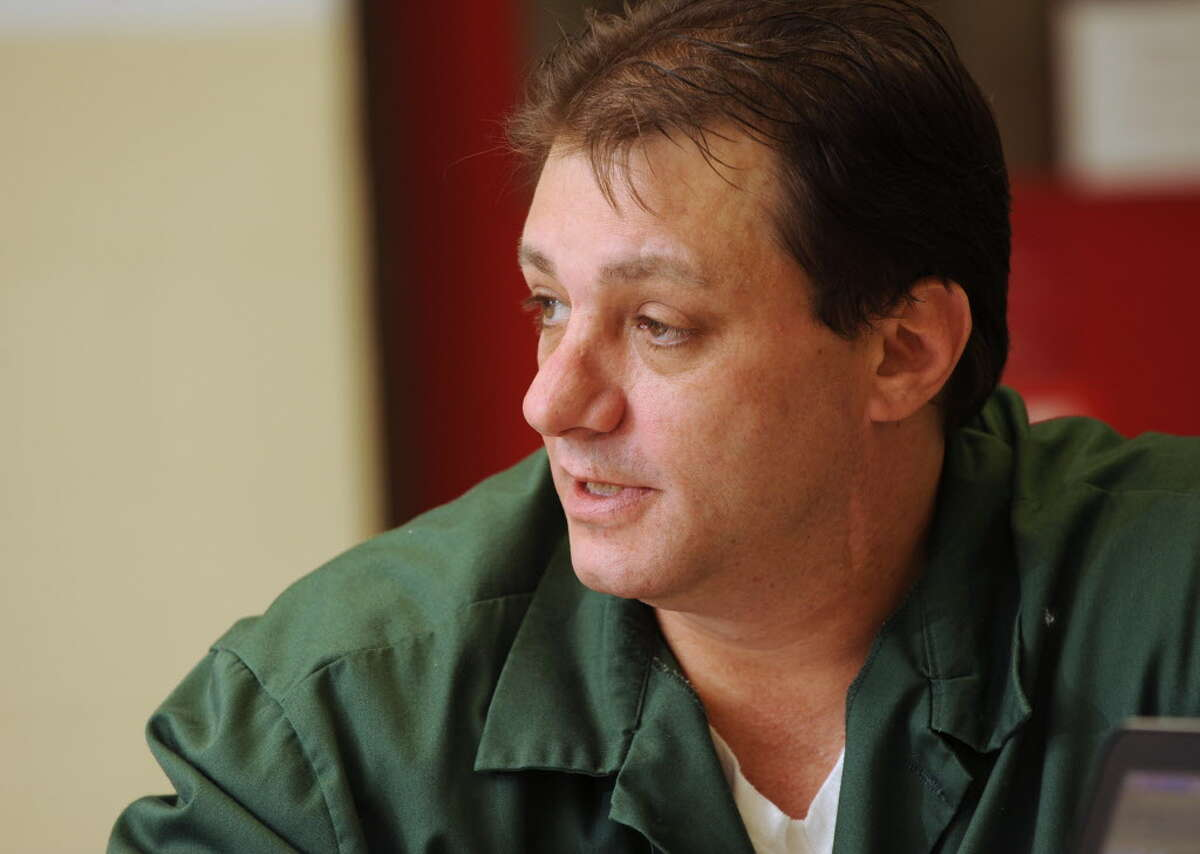 State prison inmate Barry Berman, during an interview at the Mid-State Correctional Facility on Oct. 27, 2014, said he was assaulted repeatedly by guards at Clinton Correctional Facility in Dannemora, N.Y. (Lori Van Buren / Times Union)