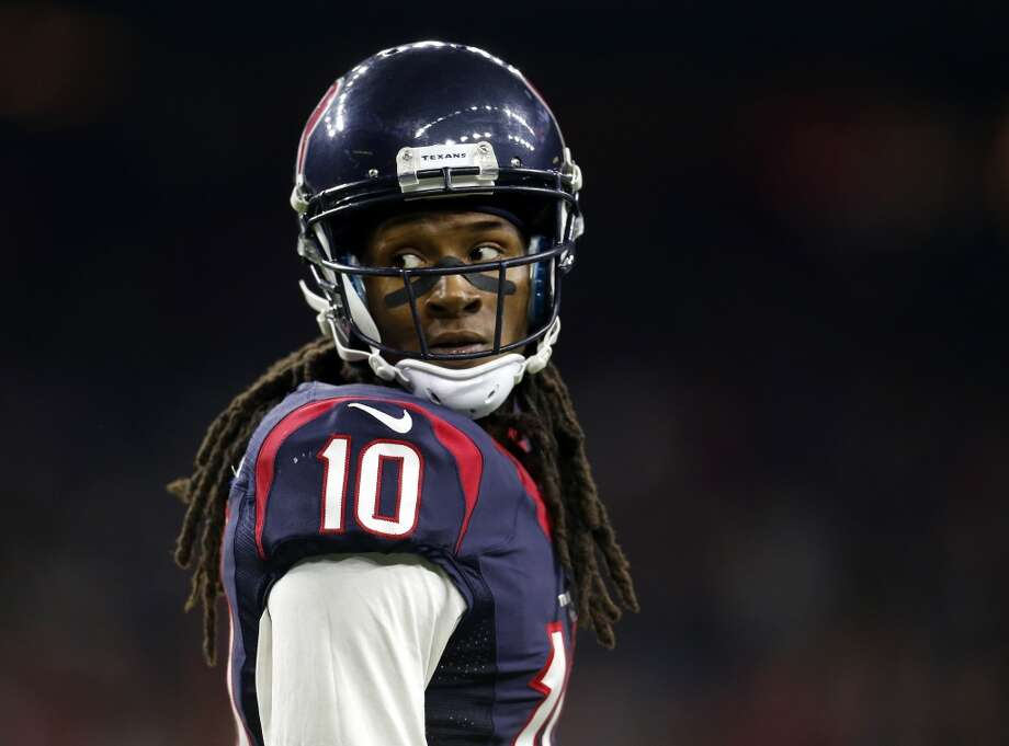 After his breakout year in 2015, DeAndre Hopkins figures to be in line for one of the NFL's biggest receiver contracts. Photo: Karen Warren, Houston Chronicle