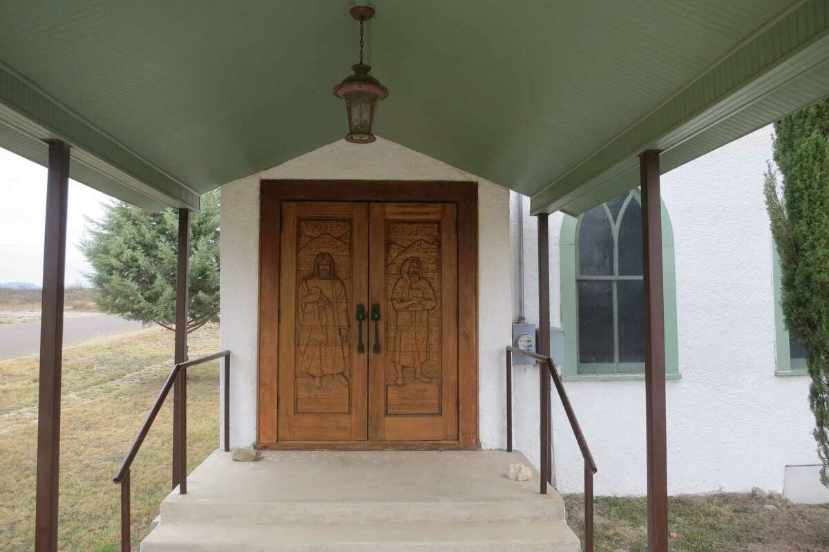 The Marathon First United Methodist Church has closed its doors forever. The wooden doors feature carvings by local artist Maisie Lee, who is 97.