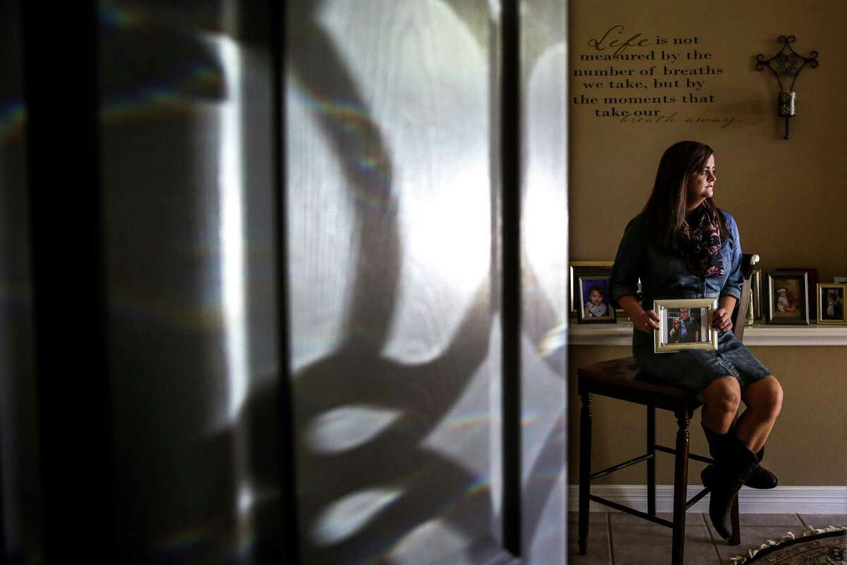 Victoria Bolin, 21, has a genetic condition recently identified as COPA syndrome. Her father died of complications from the same genetic condition in May.