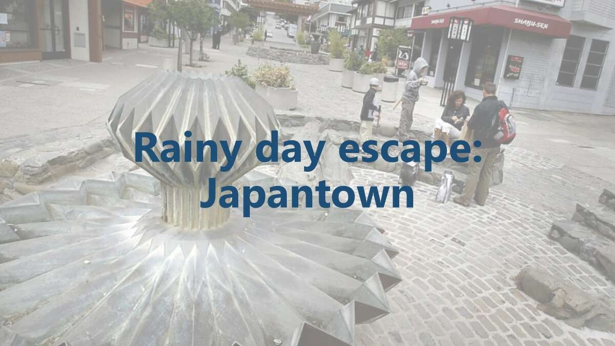 Japantown: You'll stay warm and dry inside the two malls connected by a bridge-and be transported to Japan.