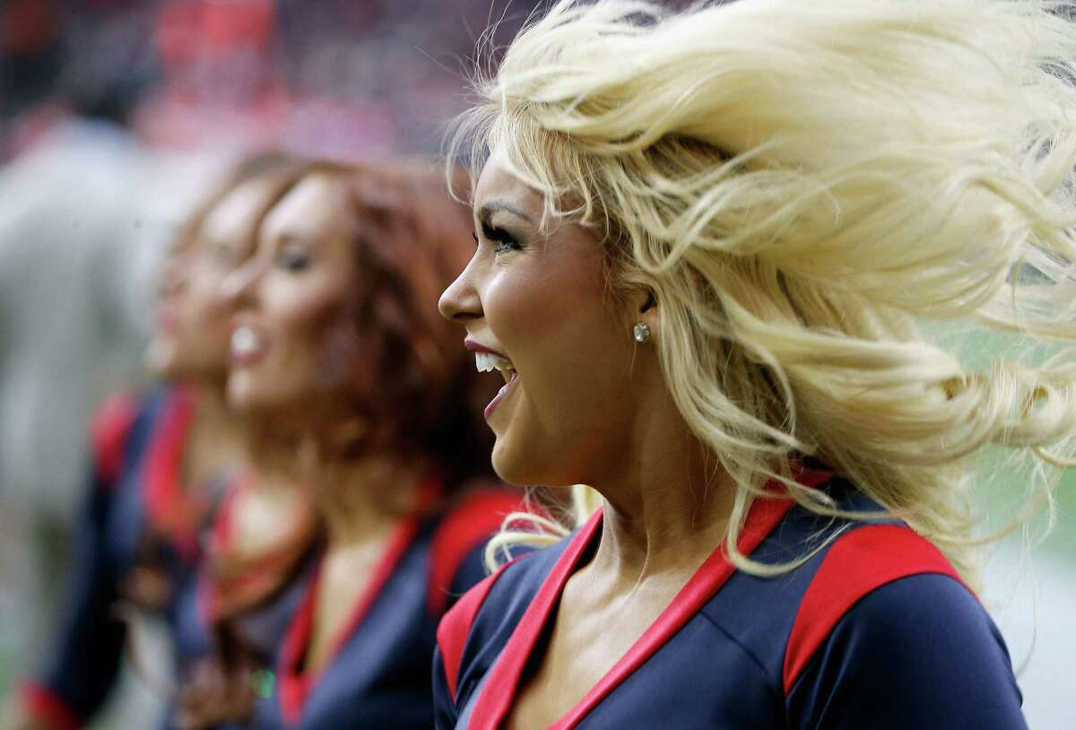 The auditions are closed to the public, so your friends and family won't be able to be there to cheer you on. However, the event is broadcast live on the Houston Texans website.