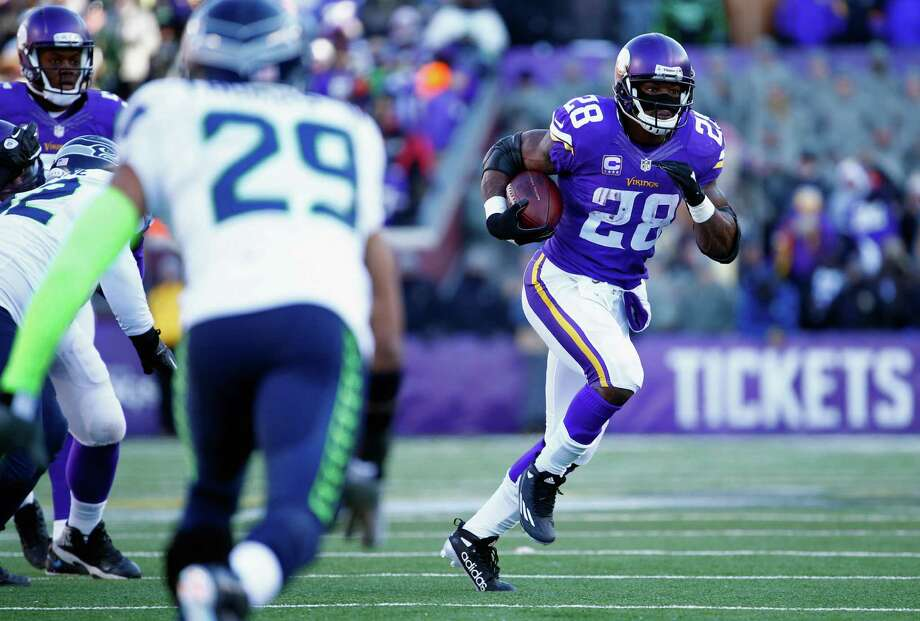 Running back Adrian Peterson is poised to become a free agent after the Minnesota Vikings declined his 2017 contract option on Tuesday. Check out some of the top upcoming unrestricted free agents in the following gallery. Photo: Jamie Squire, Getty Images / 2016 Getty Images