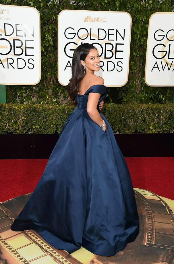 BEVERLY HILLS, CA - JANUARY 10:  Actress Gina Rodriguez attends the 73rd Annual Golden Globe Awards held at the Beverly Hilton Hotel on January 10, 2016 in Beverly Hills, California.  (Photo by Jason Merritt/Getty Images) Photo: Jason Merritt, Getty Images