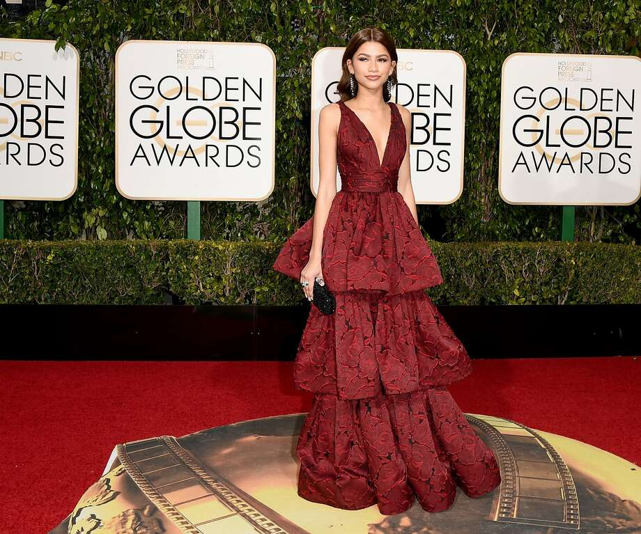 Actress/singer Zendaya attends the 73rd Annual Golden Globe Awards held at the Beverly Hilton Hotel on January 10, 2016 in Beverly Hills, California. Photo: Jason Merritt, Getty Images