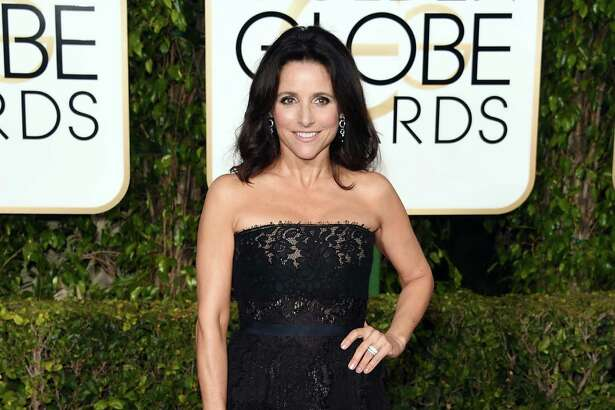BEVERLY HILLS, CA - JANUARY 10:  Actress Julia Louis-Dreyfus attends the 73rd Annual Golden Globe Awards held at the Beverly Hilton Hotel on January 10, 2016 in Beverly Hills, California.