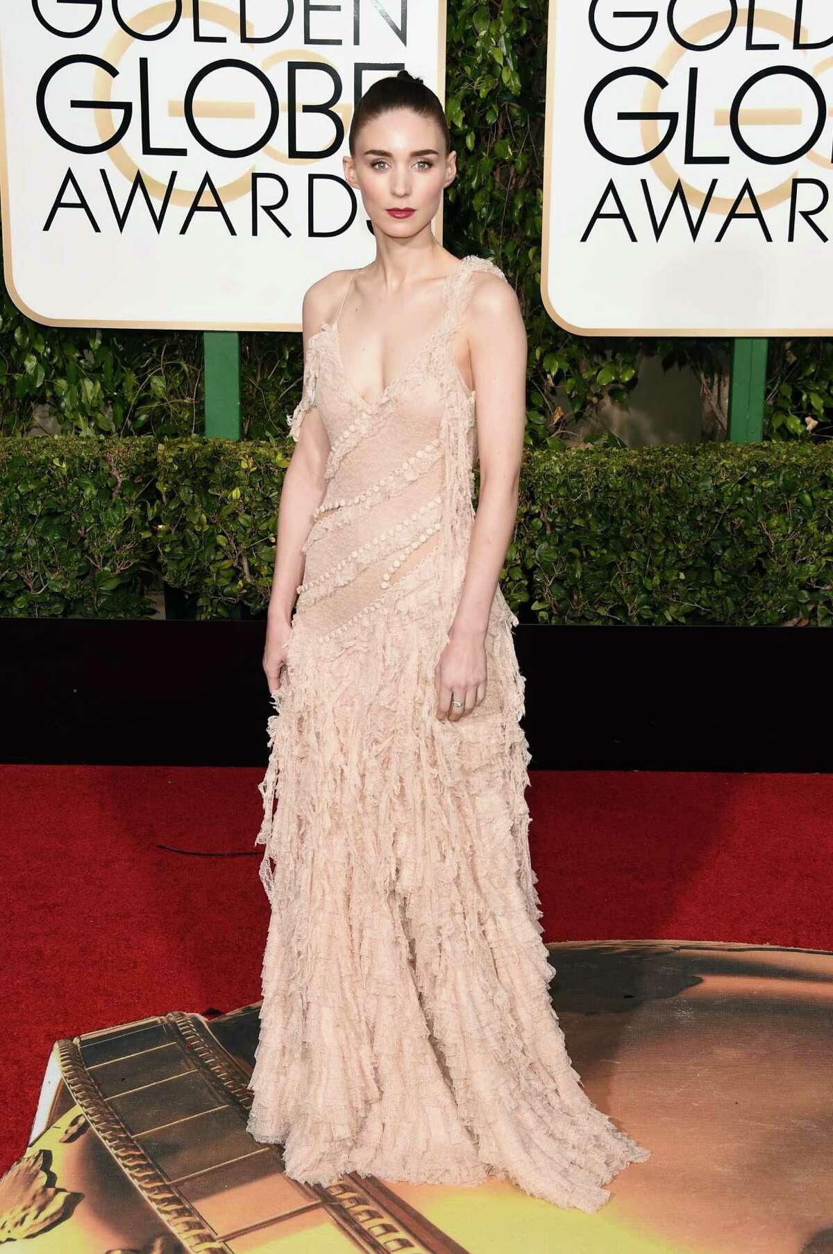 Rooney Mara: Alexander McQueen ruffles. Period.