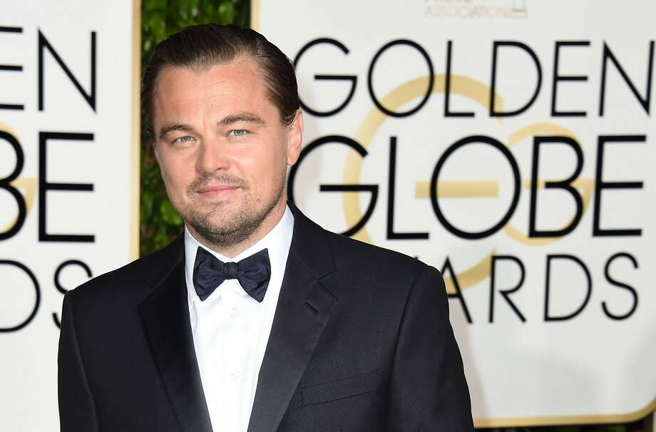 Leonardo DiCaprio arrives for the 73nd annual Golden Globe Awards, January 10, 2016, at the Beverly Hilton Hotel in Beverly Hills, California. AFP PHOTO / VALERIE MACONVALERIE MACON/AFP/Getty Images Photo: Valerie Macon, AFP / Getty Images