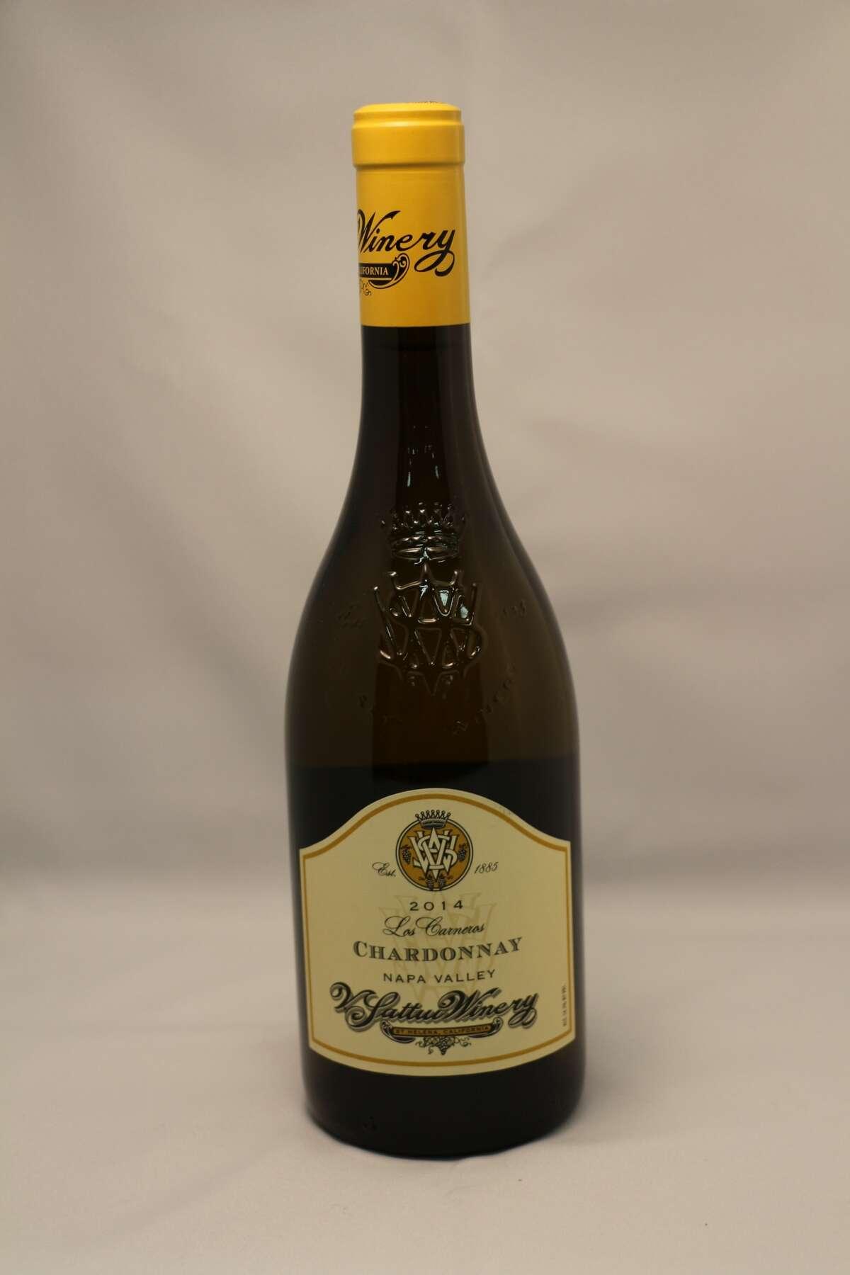 White Sweepstake Winner V. Sattui Winery, 2014 Los Carneros Chardonnay, Napa Valley, CA