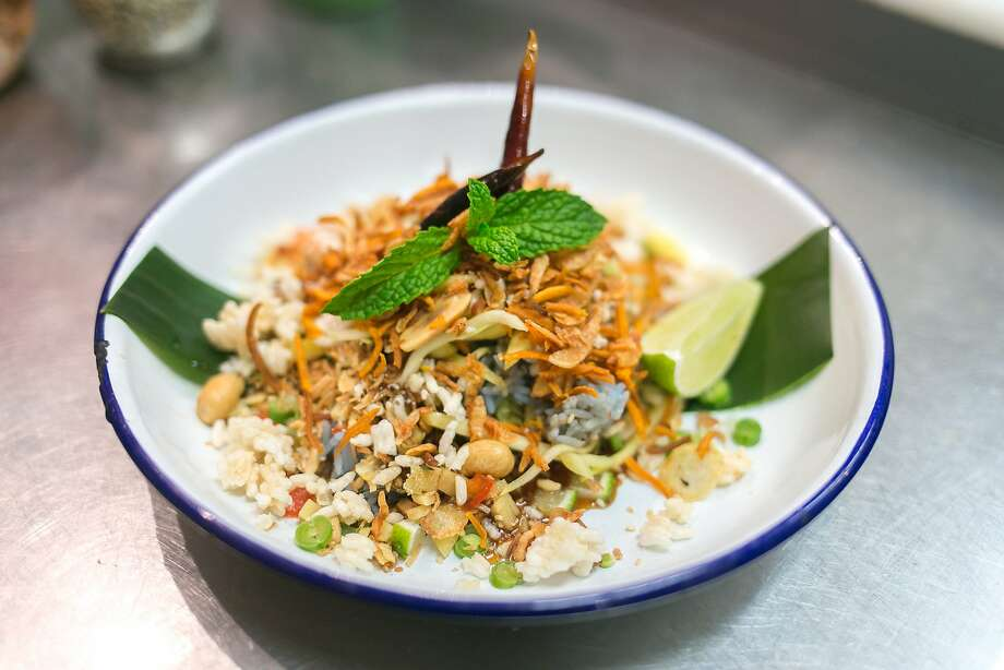 Herbal Rice Salad at Farmhouse Kitchen in S.F. Photo: Jen Fedrizzi, Special To The Chronicle