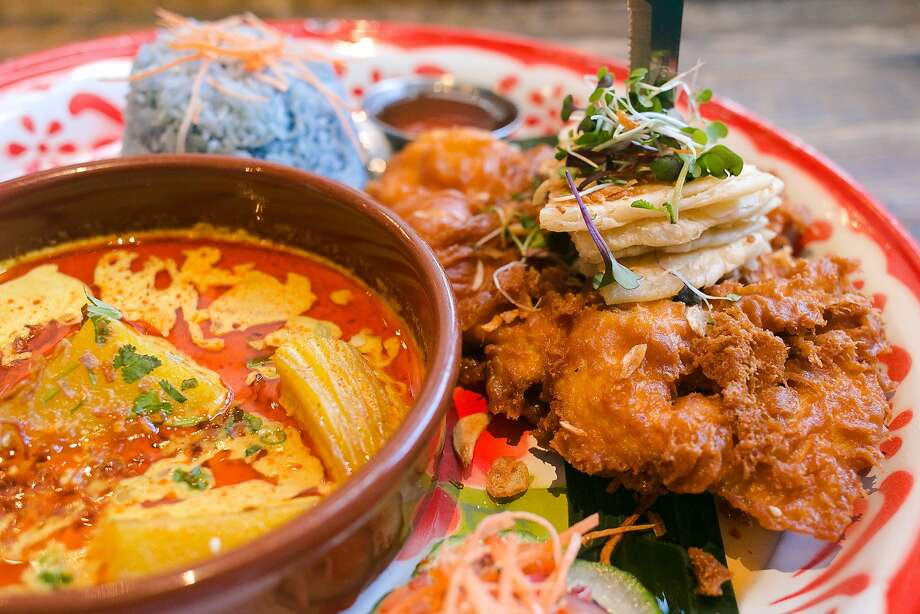 Hat Yai Fried Chicken at Farmhouse Kitchen. Photo: Jen Fedrizzi, Special To The Chronicle