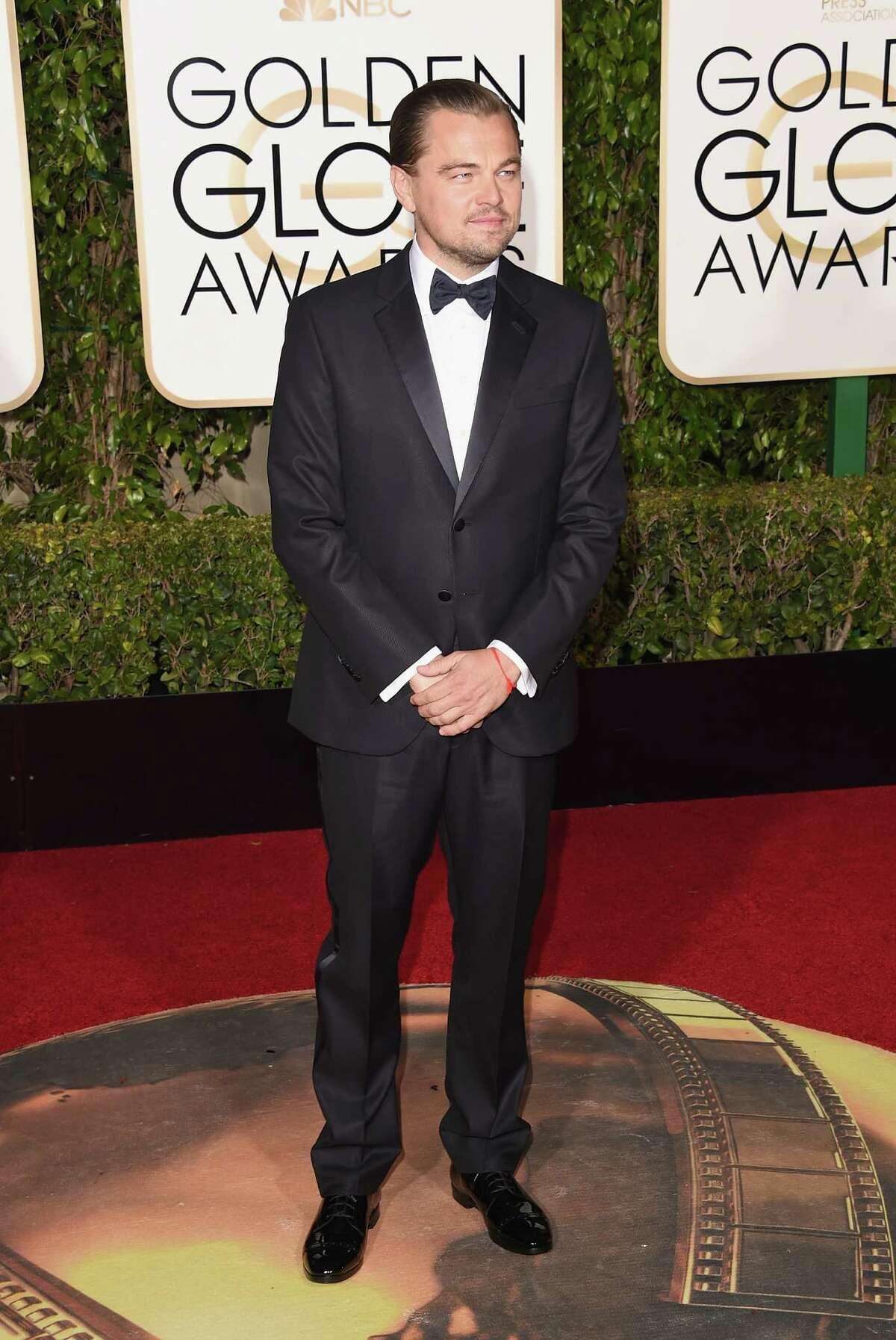 Leonardo DiCaprio. Duh, he's Leo.