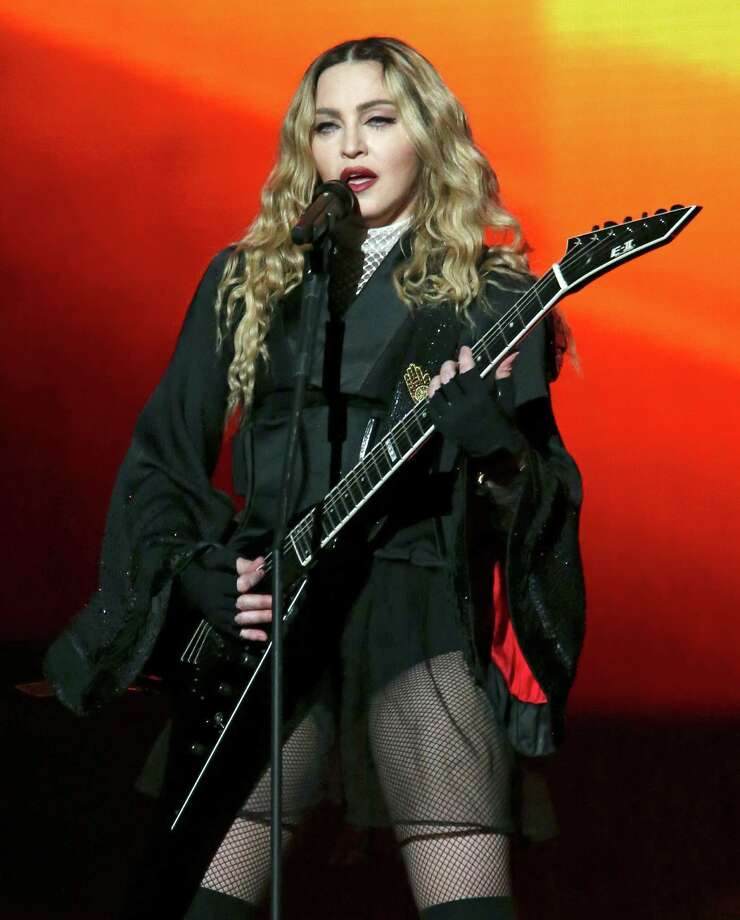 Madonna performs Sunday Jan. 10, 2016 at the AT&T Center. Photo: Edward A. Ornelas, By Edward A. Ornelas / © 2016 San Antonio Express-News