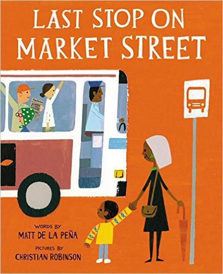 "2016 Newbery Medal winner: ""Last Stop on Market Street,"" by Matt de la Pena."