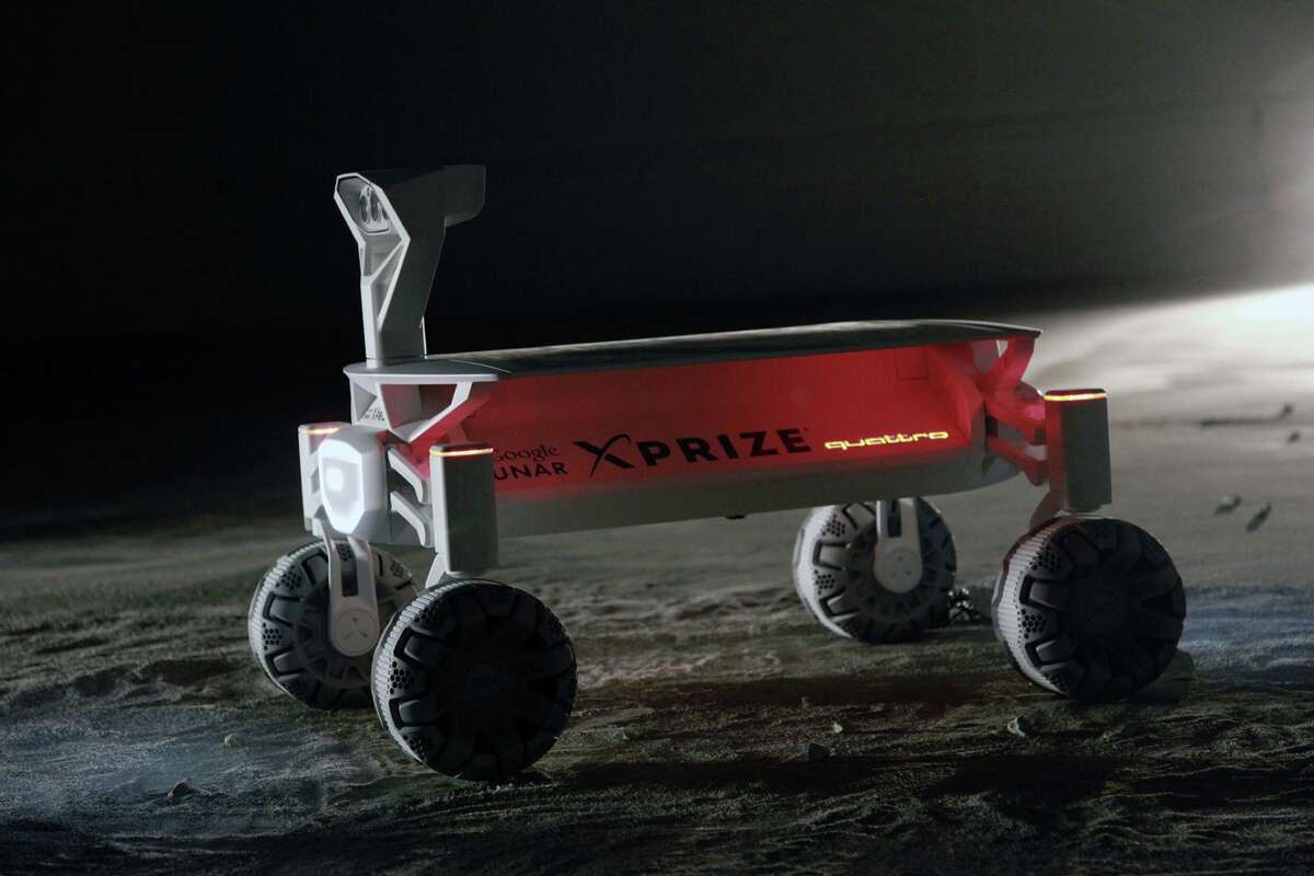 The Audi Lunar Quattro Moon Rover, which debuted at the 2016 North American International Auto Show in Detroit.