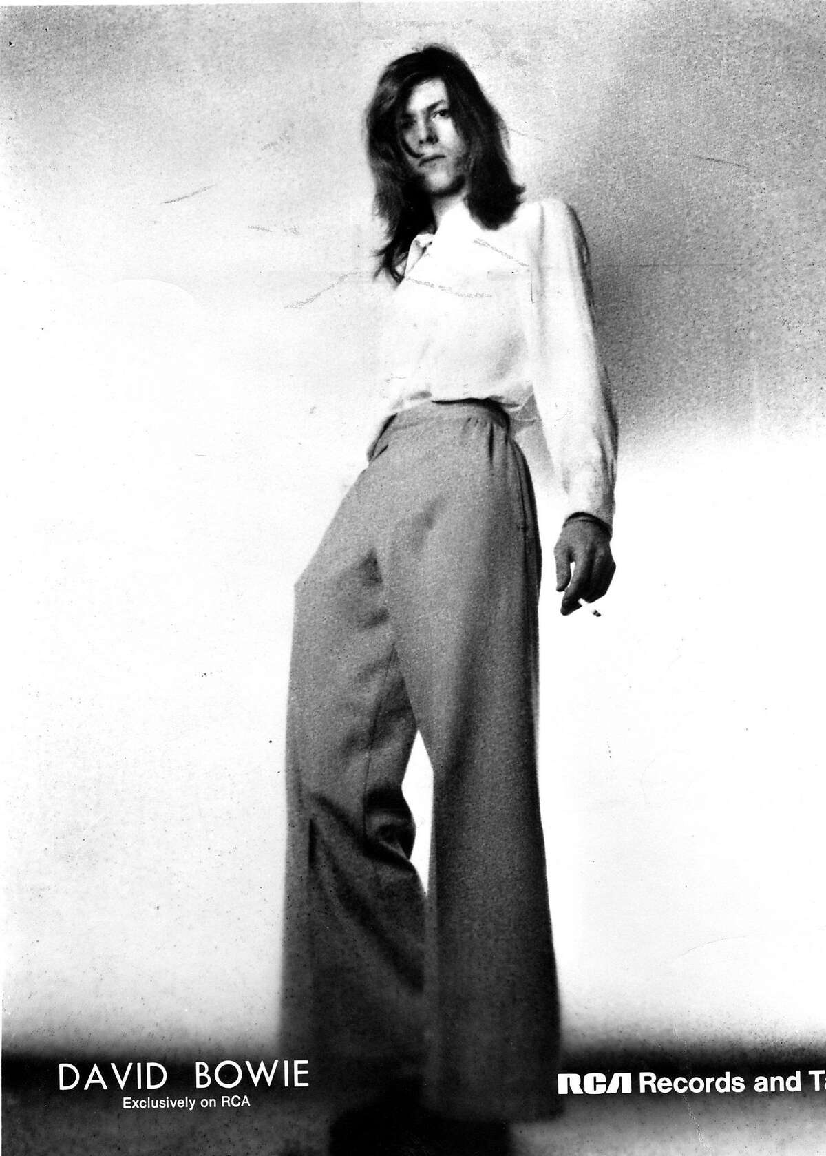 David Bowie in 1972 Phot ran 10/15/1972, p. 19