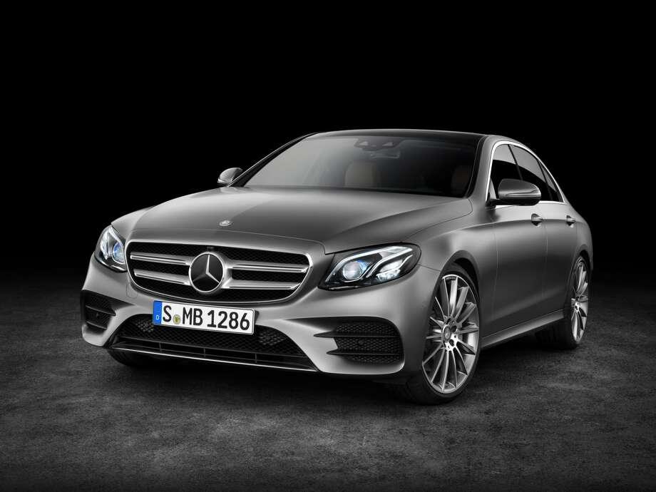 2017 marks the 10th generation of the Mercedes-Benz E-Class luxury sedan. European model shown. Photo: Mercedez-Benz, Mercedes-Benz / © 2016 Mercedes-Benz USA