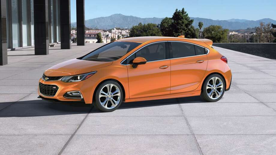 The 2017 Cruze Hatch offers the design, engineering and technological advancements of the 2016 Cruze sedan in a functional, sporty package with added cargo space. Photo: Chevrolet