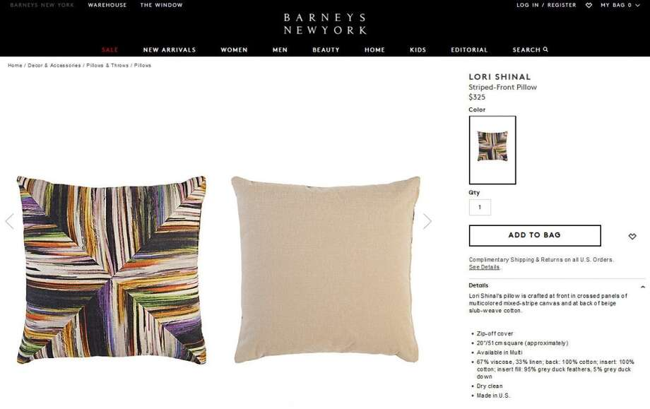 Instead of resting your head on bags of money, you can trade them all in for this $325 pillow instead.