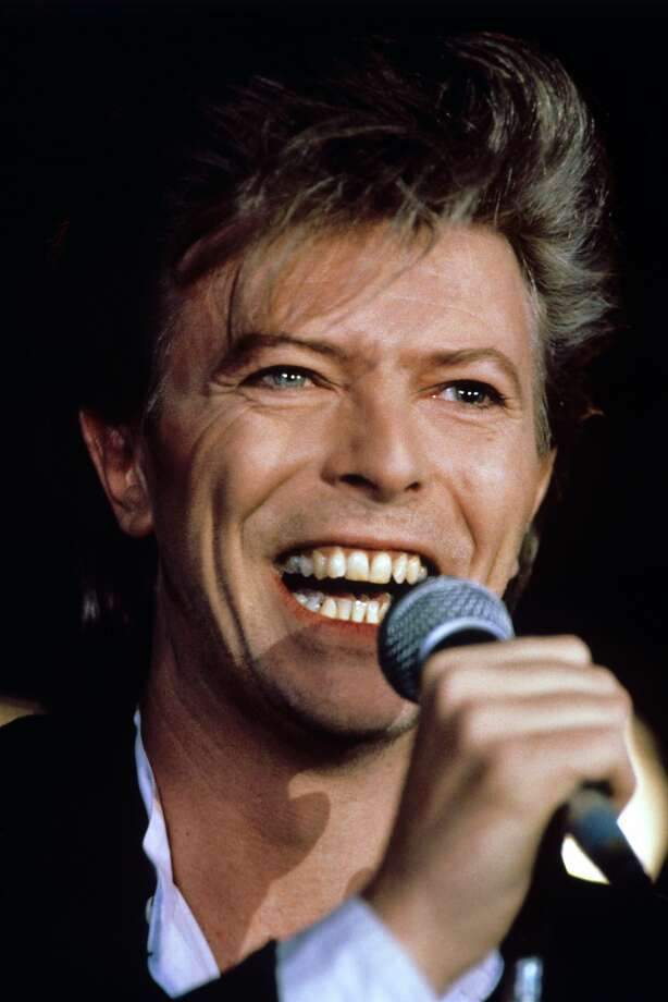 File photo dated March 20, 1987 of David Bowie, who has died following an 18-month battle with cancer. (PA Wire/Zuma Press/TNS) Photo: PA Wire, McClatchy-Tribune News Service