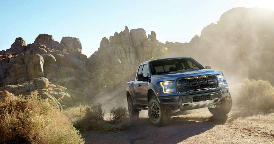 The all-new Raptor can changes the calibration of its powertrain, driveline, traction control, ABS and AdvanceTrac stability control for optimal performance with six preset drive modes: normal, street, weather, mud/sand, Baja for high performance desert racing and rock for low-speed rock crawling. Photo: Ford Media Center