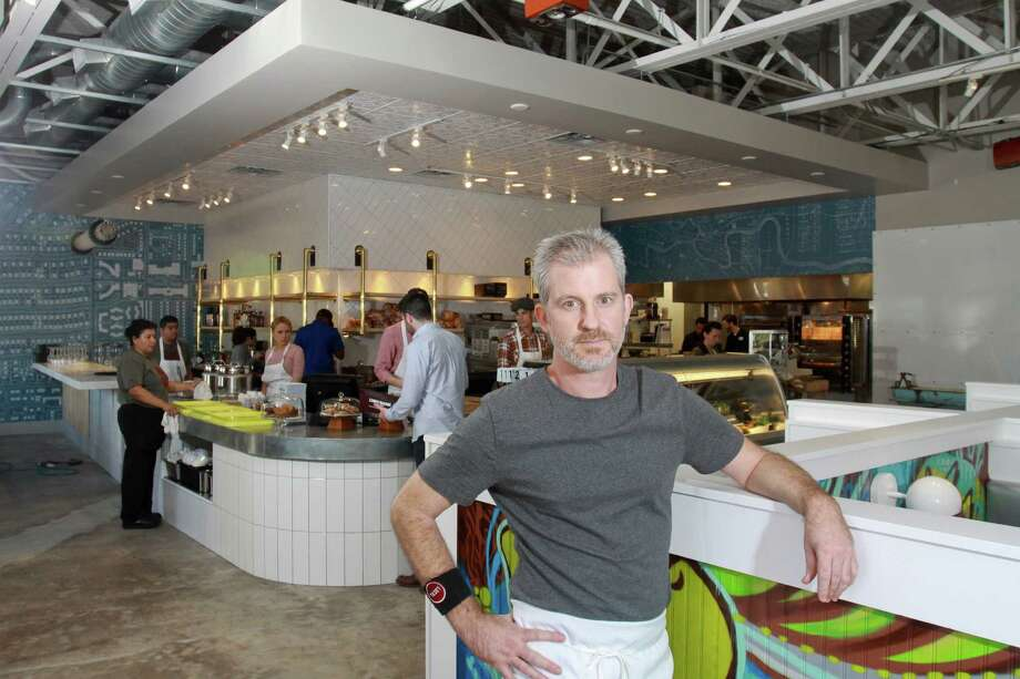 Chef/partner Dylan Murray at Local Foods on Kirby at Westheimer. The new outpost will debut at 420 Main St.>>Click to see the most reviewed sandwich shops in Houston. Photo: Gary Fountain, For The Chronicle / Copyright 2014 by Gary Fountain