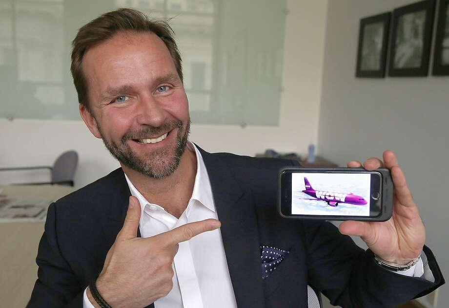 Skuli Mogensen, CEO of WOW air, is launching service from SFO to Iceland and European countries by around summer 2016 in San Francisco, California, as he talks about his airline on Monday,  January 11, 2015. Here are some of the top destinations to visit in Europe: Photo: Liz Hafalia, The Chronicle