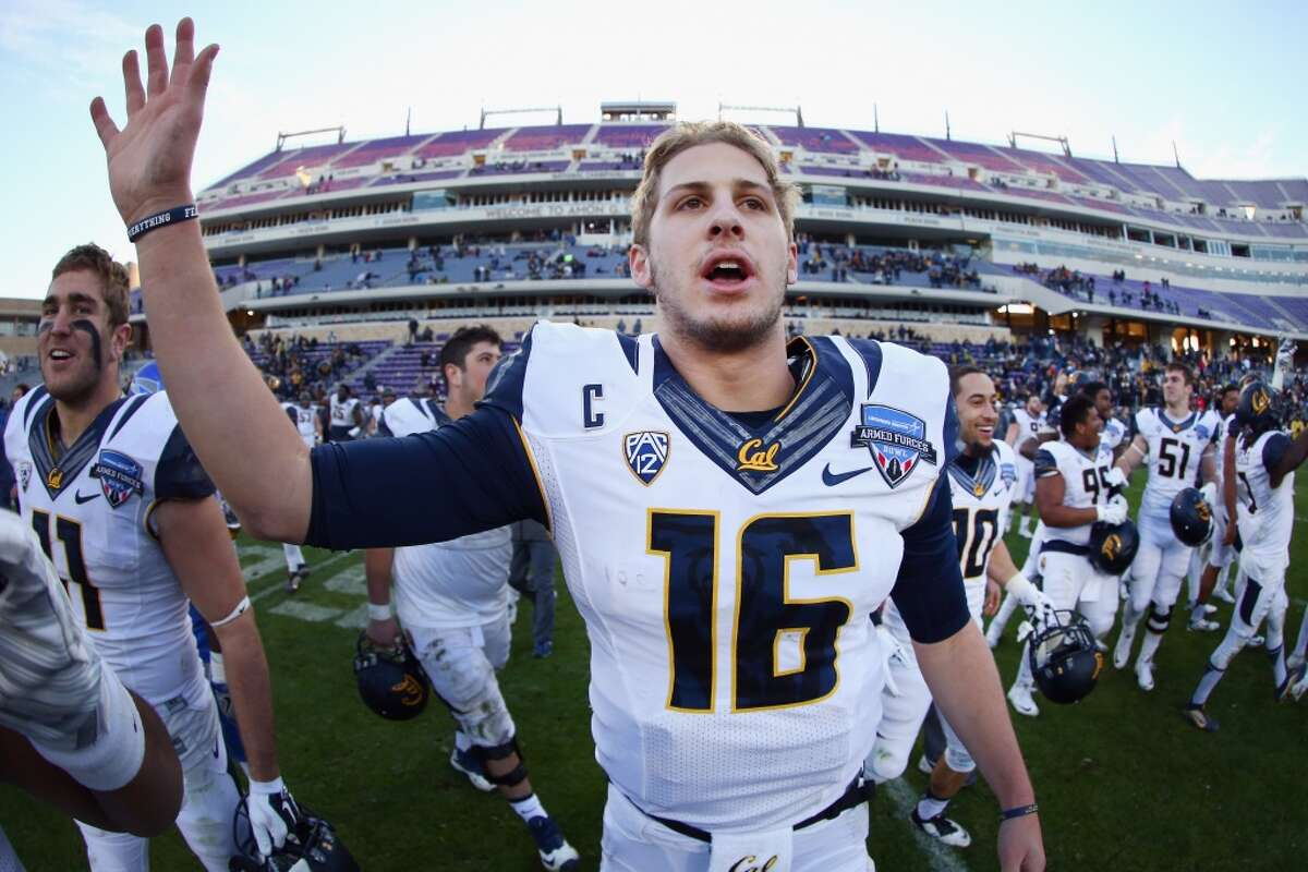 Jared Goff, California6-4, 210Projected round: 1st Goff won't be around when the Texans pick. He's a sure-fire top 10 pick, and a likely selection of the Cleveland Browns at No. 2. He has a strong, accurate arm and good field vision.