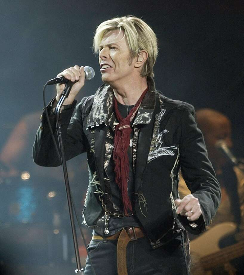 David Bowie, in his five- dec ade career, was not content to stick with one phase for long. Photo: Kathy Willens, Associated Press