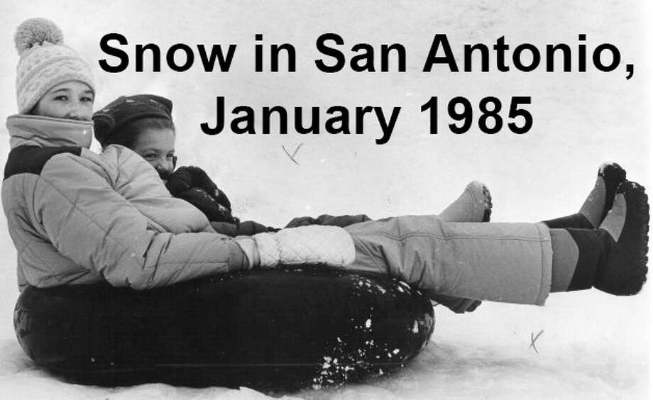 Nearly everyone who lived in San Antonio in January 1985 will remember the wonderful winter wonderland that greeted Alamo City residents one weekend. From early Saturday morning, Jan. 12 to Jan. 13, the city received a record 13.5 inches of snow. We've combed through the San Antonio Express, San Antonio News and San Antonio Light archives to bring you the best photos from the memorable storm. Enjoy!