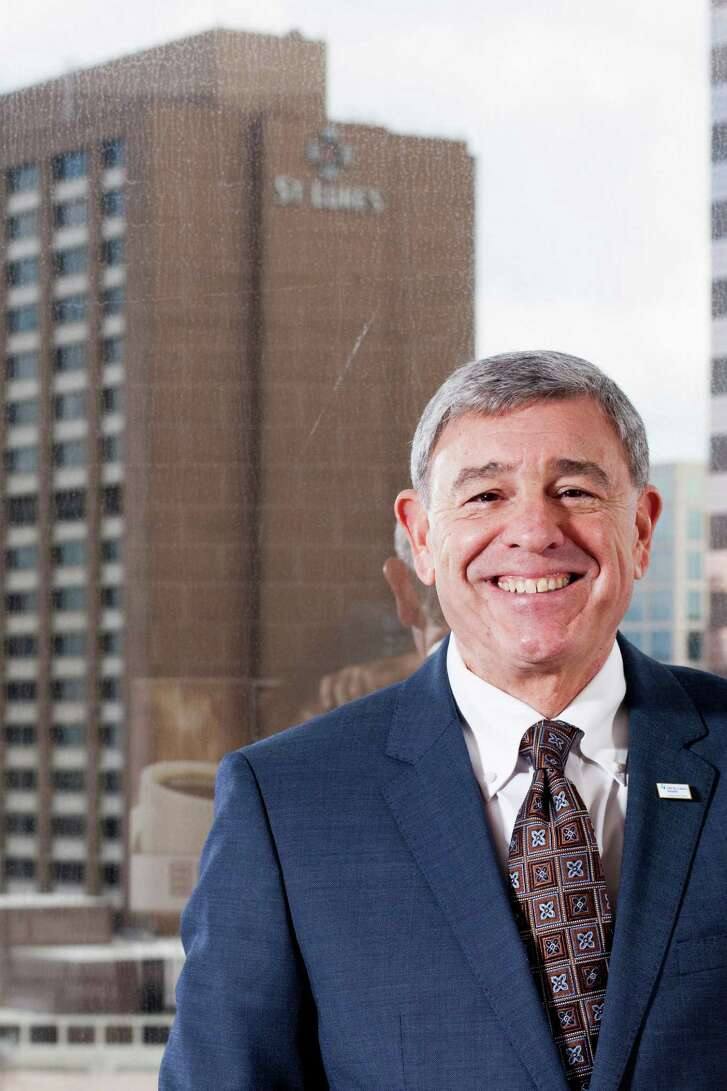 Michael Covert, the new president and CEO of CHI St. Luke's Health System Monday, Sept. 29, 2014 in Houston.    (Eric Kayne/For the Chronicle)