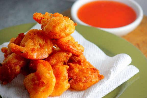 Shrimp in Spicy Tempura lets the gluten-sensitive enjoy batter.